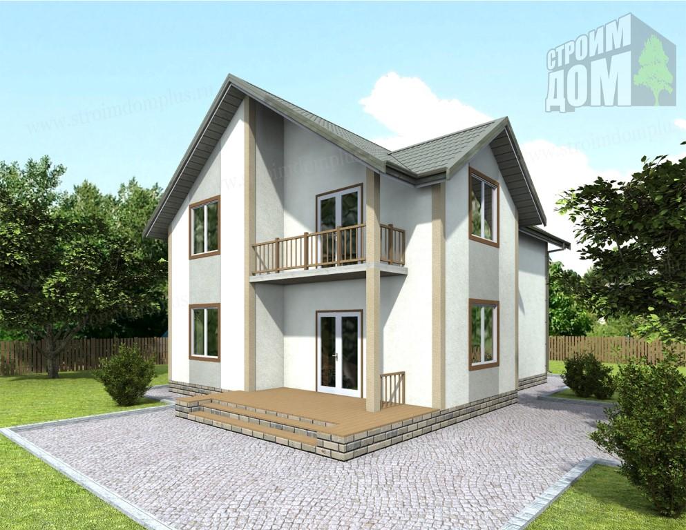 Дома из бруса под ключ недорого в СПб проекты и цены